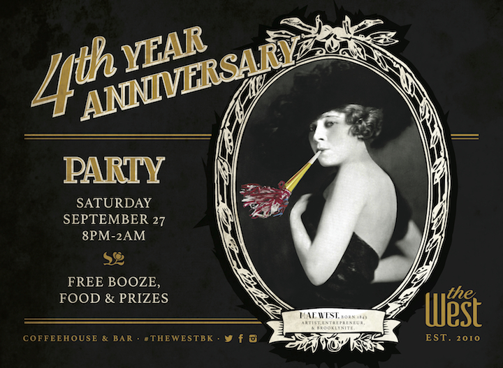 The West Williamsburg Coffeehouse and Bar 4th Anniversary Party
