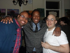 Ray Crookes, Justin Benjamin, and Keith Gonzales